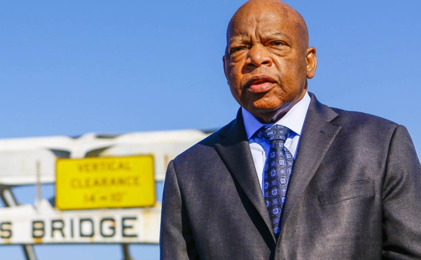 John Lewis and his HolyMarch